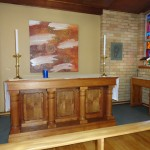 Christ Church Chapel Altar and Eucharist Window