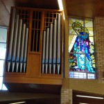 Organ Pipes and The Mary Window